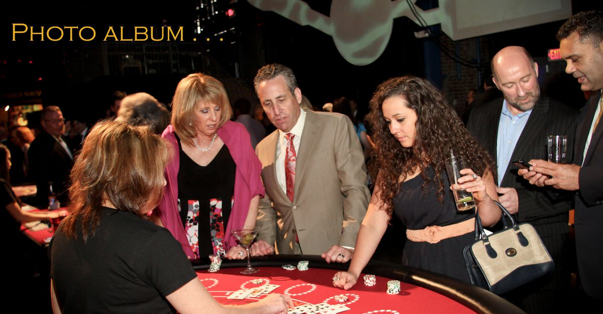 Casino Parties | Casino Party Planners | Photo Booth Rentals